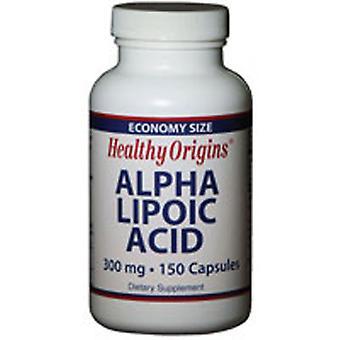 Healthy Origins Alpha Lipoic Acid 300MG, 150 Cap