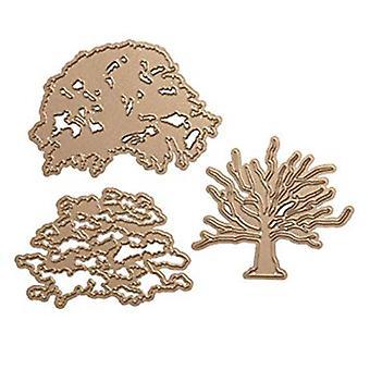 חיתוך מכושפים מת - עץ אלון בשכבות (S6-149)