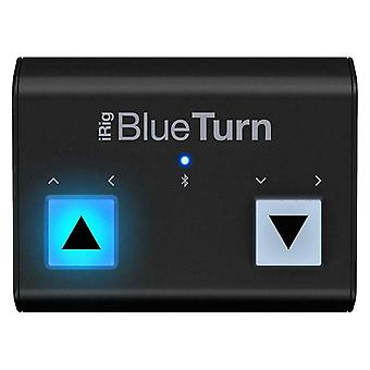 IK Multimedia iRig BlueTurn Bluetooth Page Turner for iOS and Android