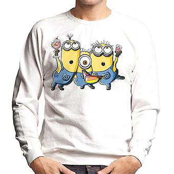Despicable Me Minions Party Men's Sweatshirt