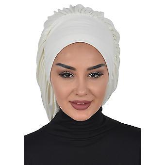 Isabella - Black Cotton Turban - Ayse Turban