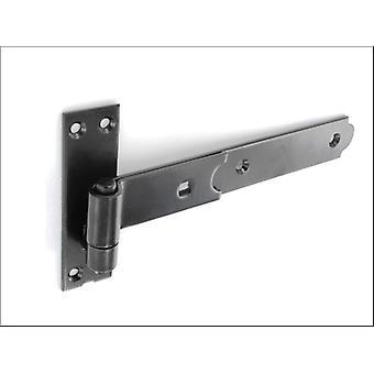 Securit litteä nauha ja koukku musta 300mm x 2 S4665