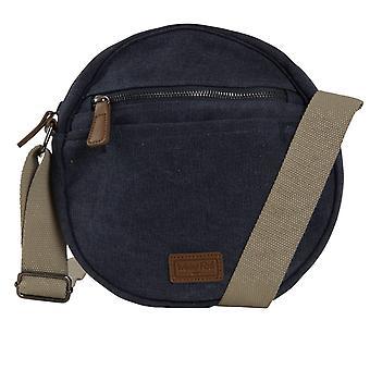Stanton Canvas Cross Body Bag Navy