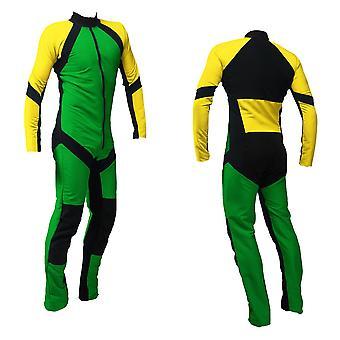Traje de paracaidismo Freefly verde-amarillo se-09