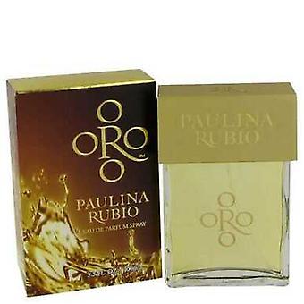 Oro Paulina Rubio By Paulina Rubio Eau De Parfum Spray 1 Oz (women) V728-464288
