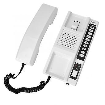 Sistema de interfone sem fio de 433mhz, aparelhos Walkie Talkie seguros