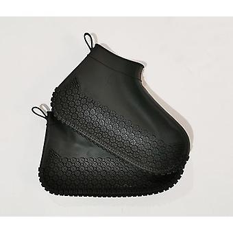 Hoogwaardige waterproof rubberen laarzen antislip waterschoenen cover / vrouwen