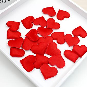 100pcs 3.5cm Love Heart Shaped Sponge Petals Bride Wedding Decoration