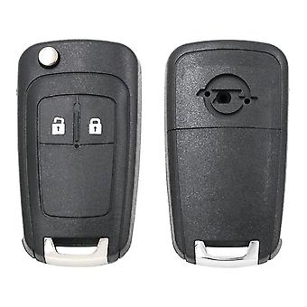 2 Button Blank Remote Key Shell For Opel Astra J Zafira B Insignia Adam Astra J