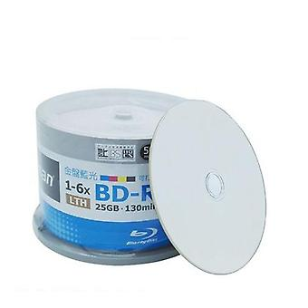 6x Bdr 25g Blu-ray Disc Bd-r 25 Go Blank Media 50pcs/lot Pack In Bags