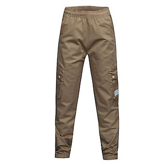 Adidas Originals Boys TKO Cargo Pants Tan Joggers BK7656