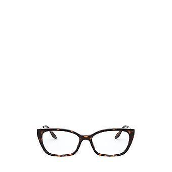 Prada PR 14XV havana vrouwelijke brillen