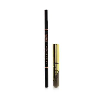 Anastasia Beverly Hills Perfect Your Brows Kit (Brow Wiz + Mini Dipbrow Gel) - # Taupe 2pcs
