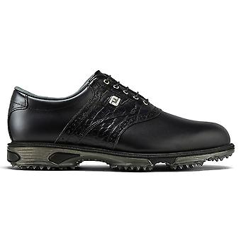 Footjoy Mens DryJoys Tour Lightweight Waterproof Leather Golf Shoes