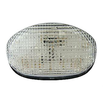Bike It LED Rear Tail Light With Clear Lens And Integral Indicators - #T045