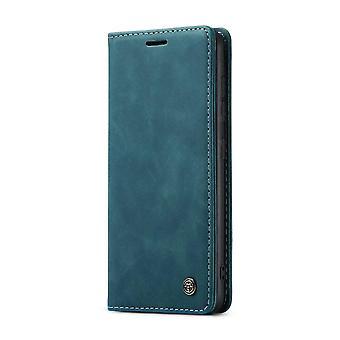 CASEME Wallet Case Samsung Galaxy S21+ (Plus) - Bleu