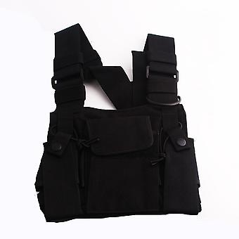 S-4291027 Chest Bag Tactical Package Walkie talkie Chest Pack On Duty Bags backpack Leather Case