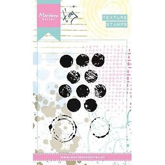 Marianne Design Stamp Texture Dots mm1608