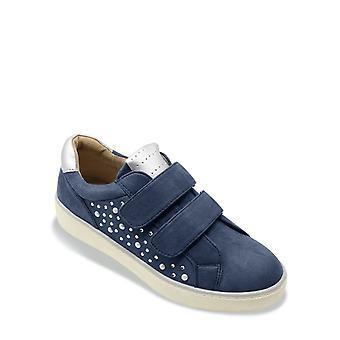 Dr Keller Dr Keller Shoe Wide Fit Pearl Trim Touch & Close