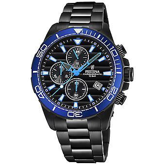 Festina the originals f20365/6 Watch for Analog Quartz Men with Stainless Steel Bracelet F20365/6
