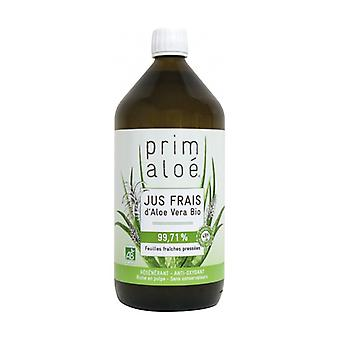 Organic pure aloe vera juice 1 L