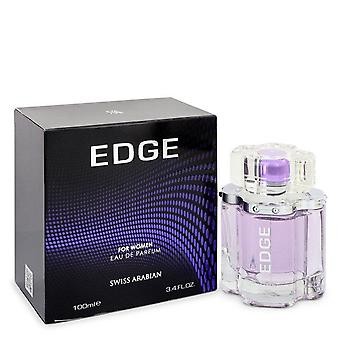 Swiss Arabian Edge Eau de Parfum Spray por Swiss Arabian 3,4 oz Eau de Parfum Spray
