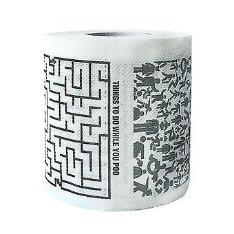 Printed Toilet Tissue Paper