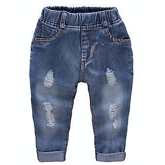 Children Jeans Harem Long Pants Clothing Cowboy Trousers