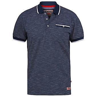 Duke Herren Hornet D555 Fine Stripe Polo Shirt