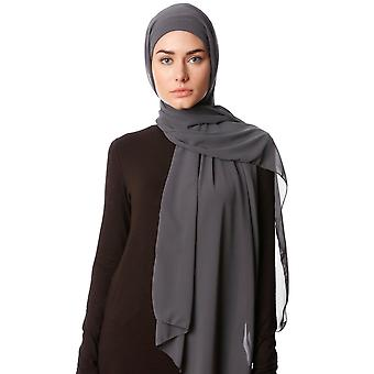 Practical One Piece Chiffon Hijab Shawl - Derya