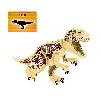 Jurassic World Dinosaurs Figurki Cegły, Montaż bloków konstrukcyjnych, Zabawka dla dzieci