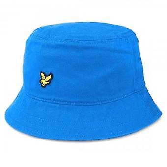 Lyle & Scott Logo Ocean Blue Bucket Hat HE800A