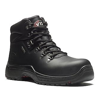 V12 V1215 Thunder Black Oiled Hide Waterproof Hiker Boot EN20345:2011-S3 Size 10