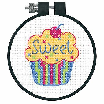 Dimensions Learn-a-Craft: Counted Cross Stitch: Cupcakes