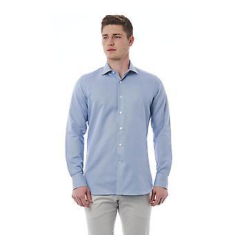 Blue Bagutta men's shirt