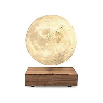 Gingko Natural Wood Smart LED Floating Moon Desk Lamp (UK Plug)