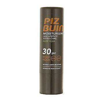 2 x Piz Buin Moisturising Sun Lipstick Extra Care Aloe Vera SPF30 4.9g