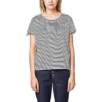 ESPRIT 068ee1k017 T-Shirt, Veelkleurig (Navy 400), Kleine Vrouw