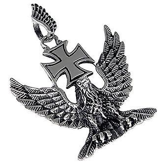 Großer Adler Edelstahl Anhänger