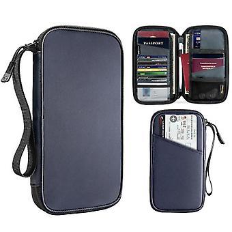 Paquete de tarjeta de crédito multifunción para titulares de pasaportes de billetera de viaje