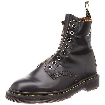 Dr. Martens Womens 1460 LL Leather Closed Toe Ankle Working Boots