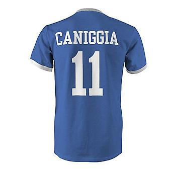 Claudio caniggia 11 argentina land ringer t-shirt