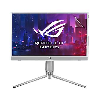 Celicious Vivid Invisible Glossy HD Screen Protector Film Compatible with Asus Monitor ROG Strix 15 (XG16AHP-W) [Pack of 2]
