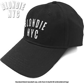 Blondie - NYC Logo Men's Baseball Cap - Black