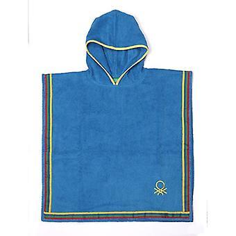Dressing Gown Benetton Poncho Baumwolle (85 x 85 cm)/Blau