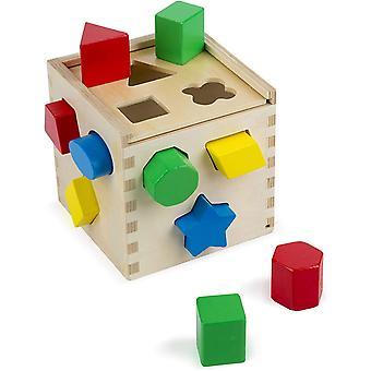 Melissa &doug form sortering kube klassisk