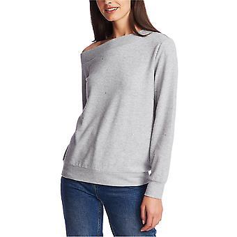 1.STATE Womens Embellished Off-The-Shoulder Top