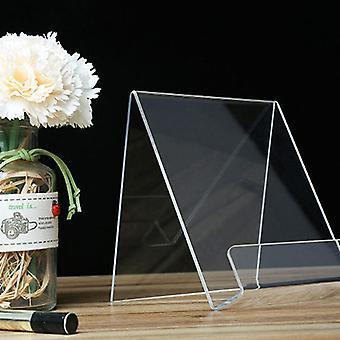 Acryl Display Rack, Transparentes Buchregal Musik Record Display Stand