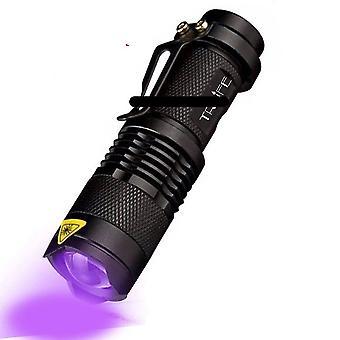 Zaklampen koplampen led uv zaklamp 365nm 395nm blacklight schorpioen uv licht