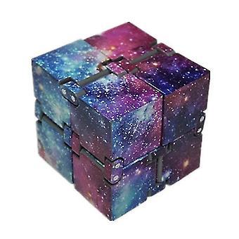 Infinite Rubik's Cube legetøj lige ved hånden, Dekompression Rubik's Cube legetøj (The Purple Sky)